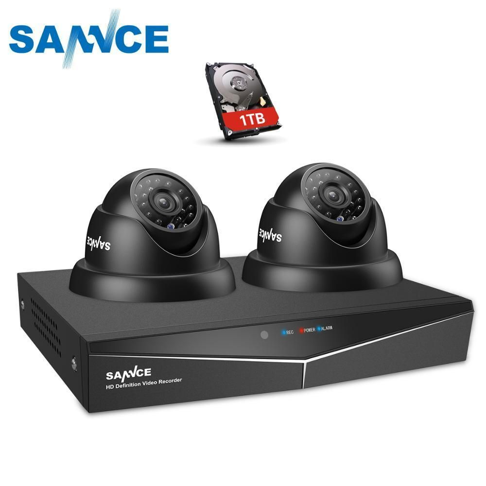 Sannce 4ch Cctv System 720p Dvr 2pcs A Href Http 1 0mp 1 0mp A Ir Weatherp Home Security Camera Systems Security Cameras For Home Home Security Systems