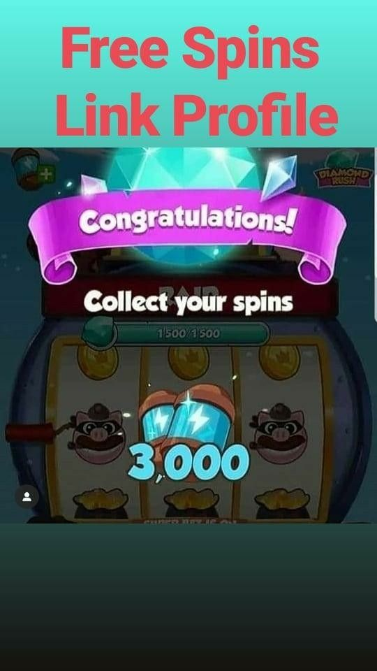 "Free Spins Link in Bio ""love this game"""