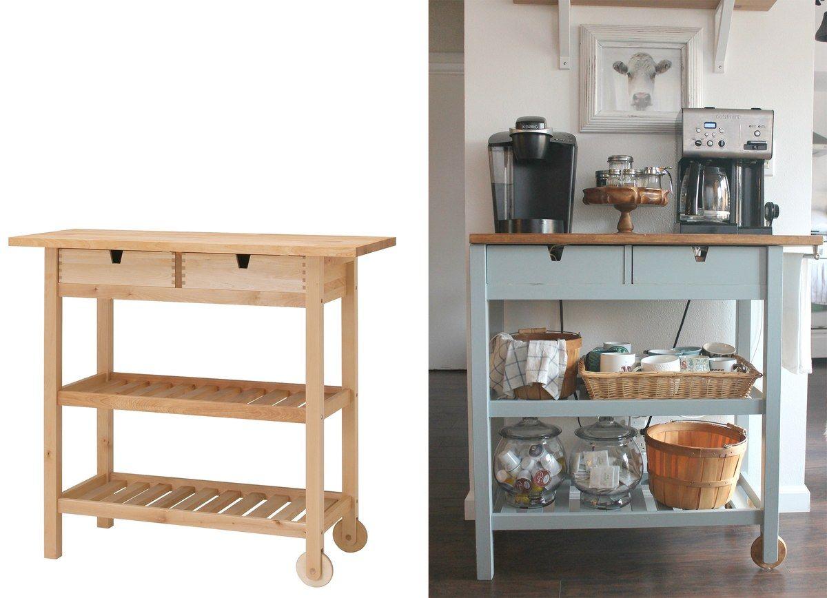 Get Ikea Kitchen Hacks To Make A Kitchen Island Pantry