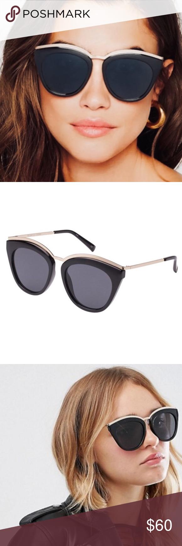 edfc2bff0b72b Le Specs Eye Slay Cat Eye Sunglasses Black NWT Le Specs Eye Slay Cat Eye  Sunglasses
