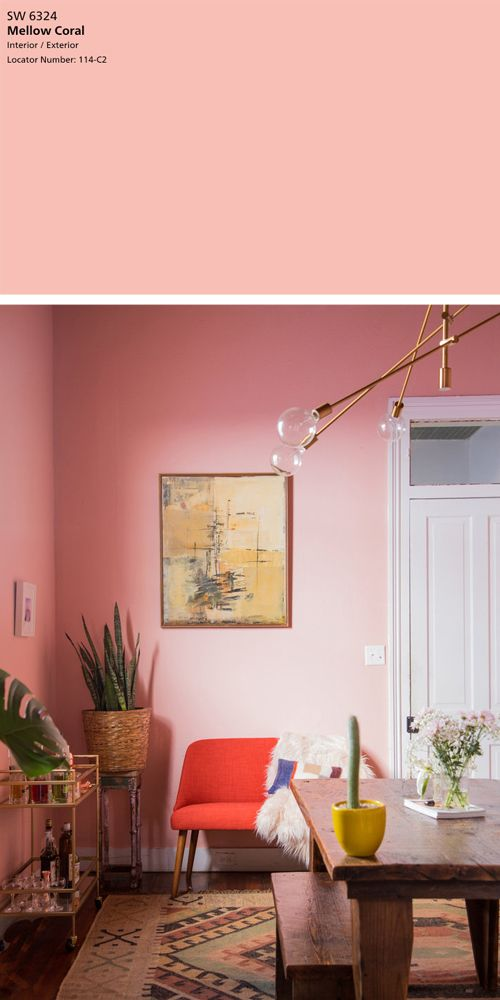 The Best 5 Pink Paint Colors | Pinterest | Bathroom cabinets, Room ...