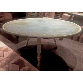 C17th Oval Dining Table Traditional Wood Room By Birgit Israel
