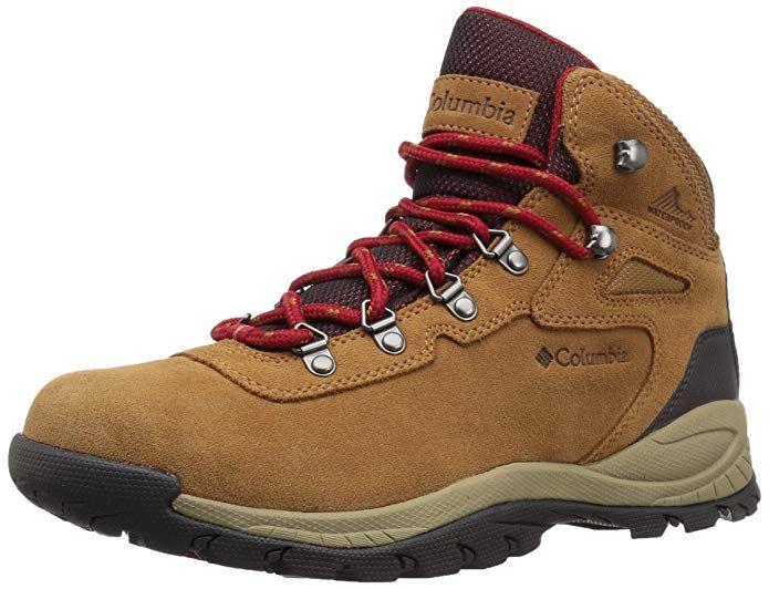 077892f5a8d Columbia Women's Newton Ridge Plus Waterproof Amped Hiking Boot, Elk,  Mountain Red, 6.5 B US