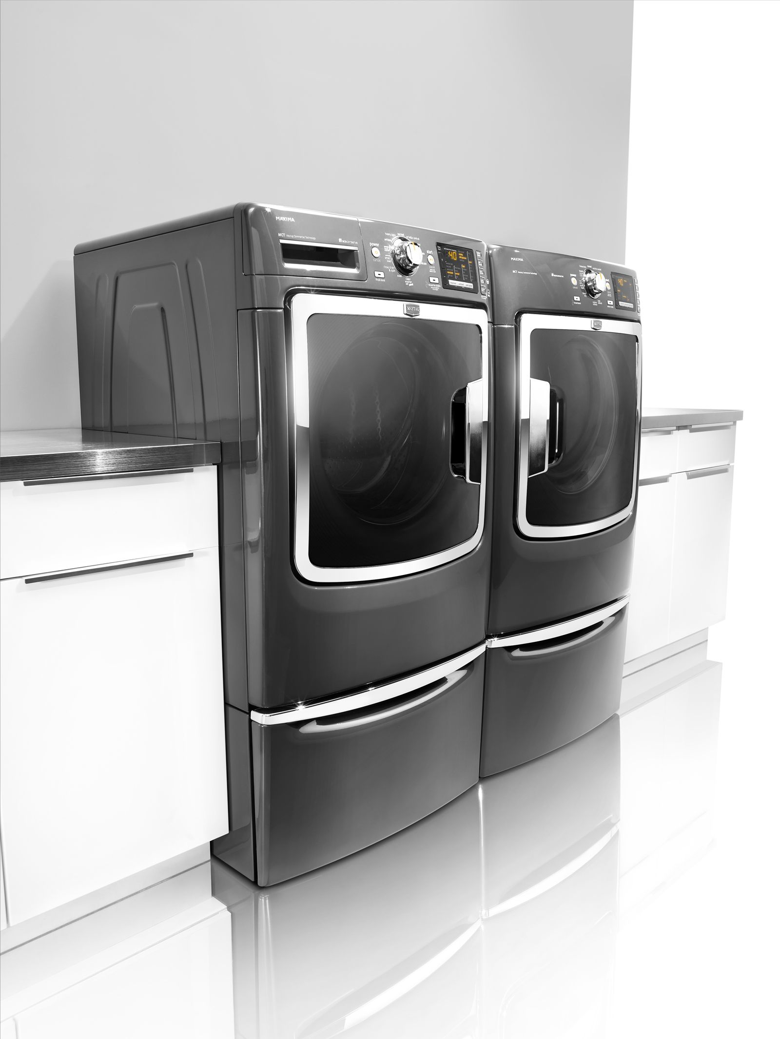 additional dryer by hidden front load chrome maytag for in and ms cleveland pedestal shadow with may products washer storage frivinwthpey