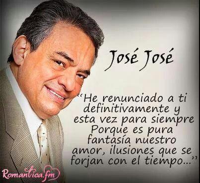 José José Frase Canción