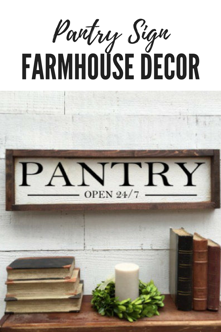 Rustic Vintage Farmhouse Pantry Sign Affiliate Rustic Vintage Farmhouse Country Pantry Kitchen Home Dec Pantry Sign Farmhouse Pantry Vintage Farmhouse