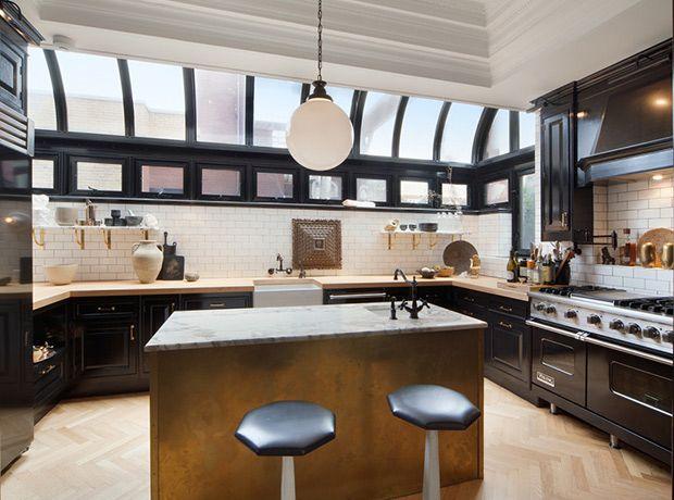 Nate Berkus \ Jeremiah Brentu0027s $10M Manhattan Penthouse Cocinas