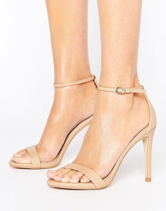c1871dce6791 Stecy Nude Barely There Sandals by Steve Madden. Sandals by Steve Madden
