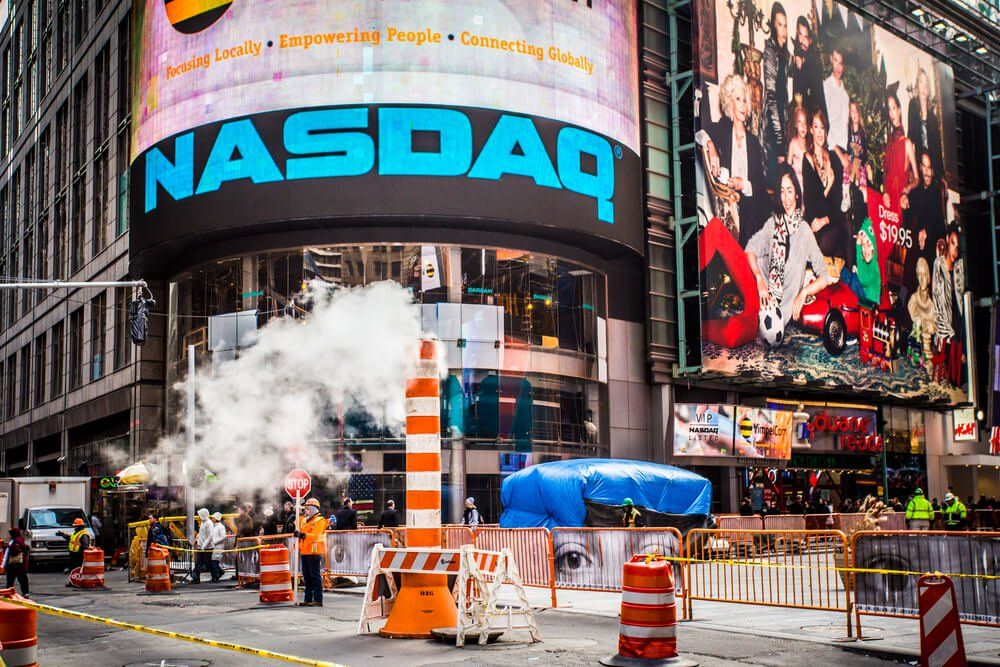 The Nasdaq continued the fall from its alltime high on