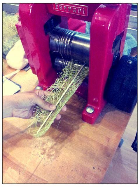 adding texture using a rolling mill - Aggiunta di texture con un laminatoio