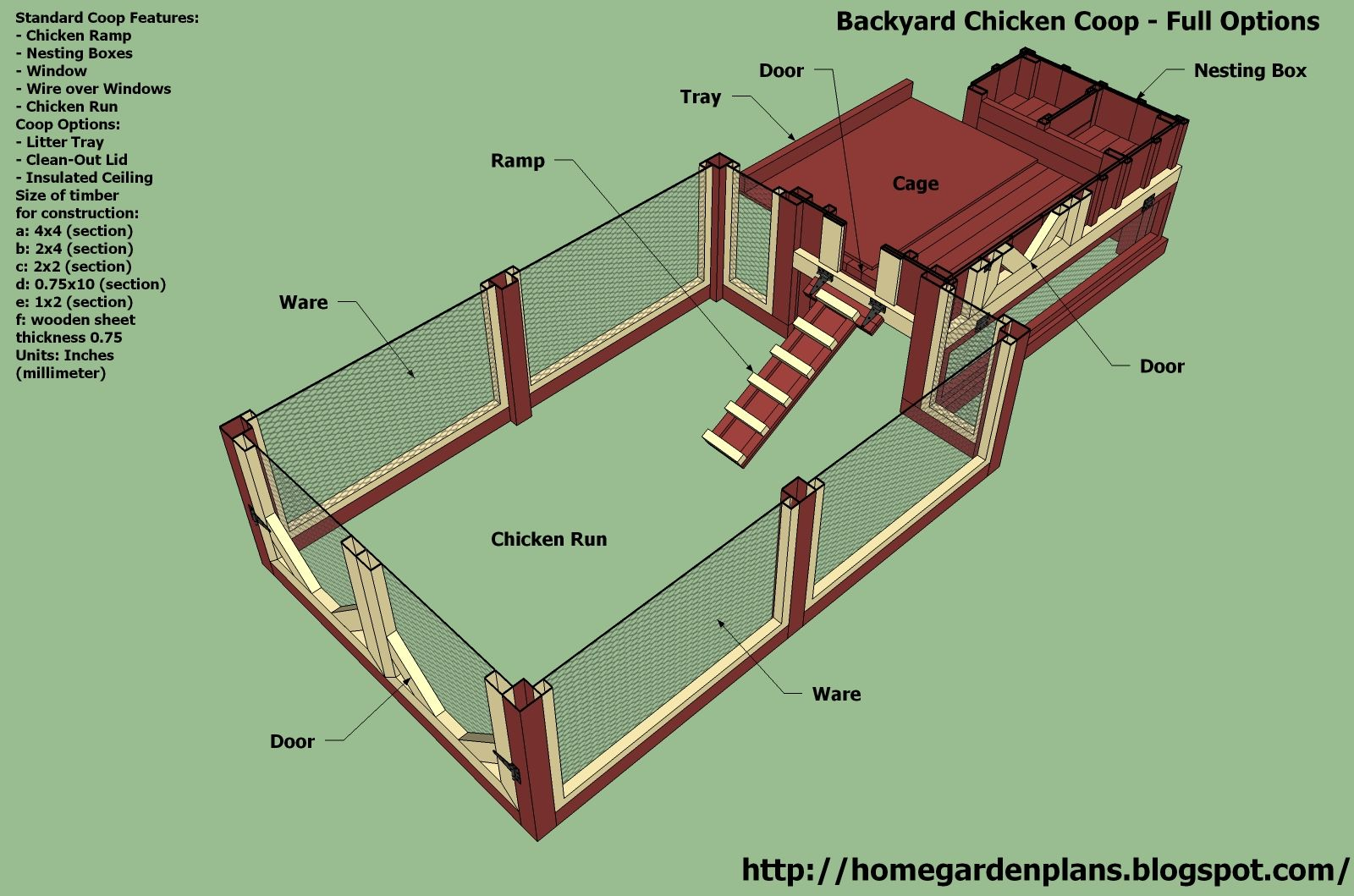 Chicken House Plans backyard chicken house plans - house interior