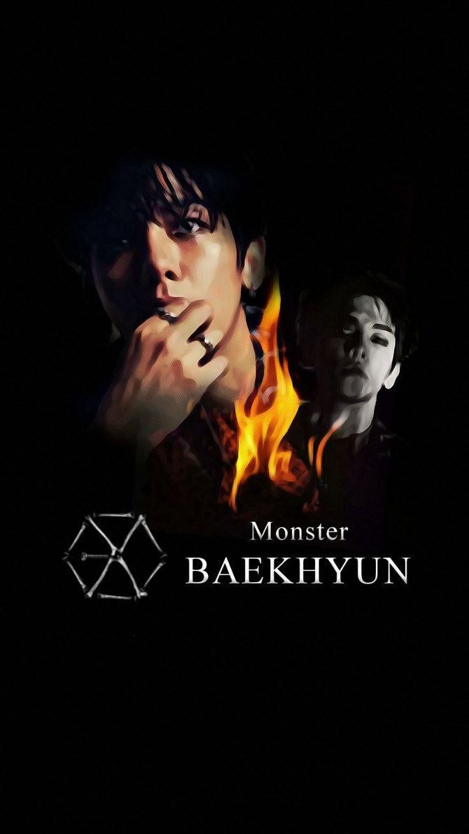 Exo Monster Wallpaper Google Search Exo Monster Exo Exo Fan Art
