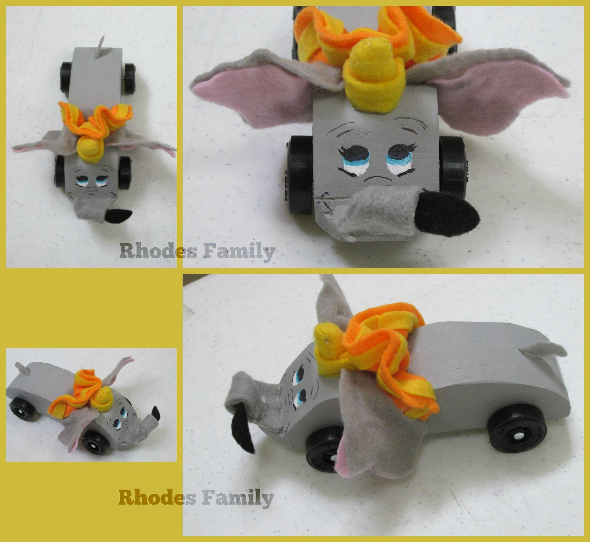 Lauren S Dumbo Car
