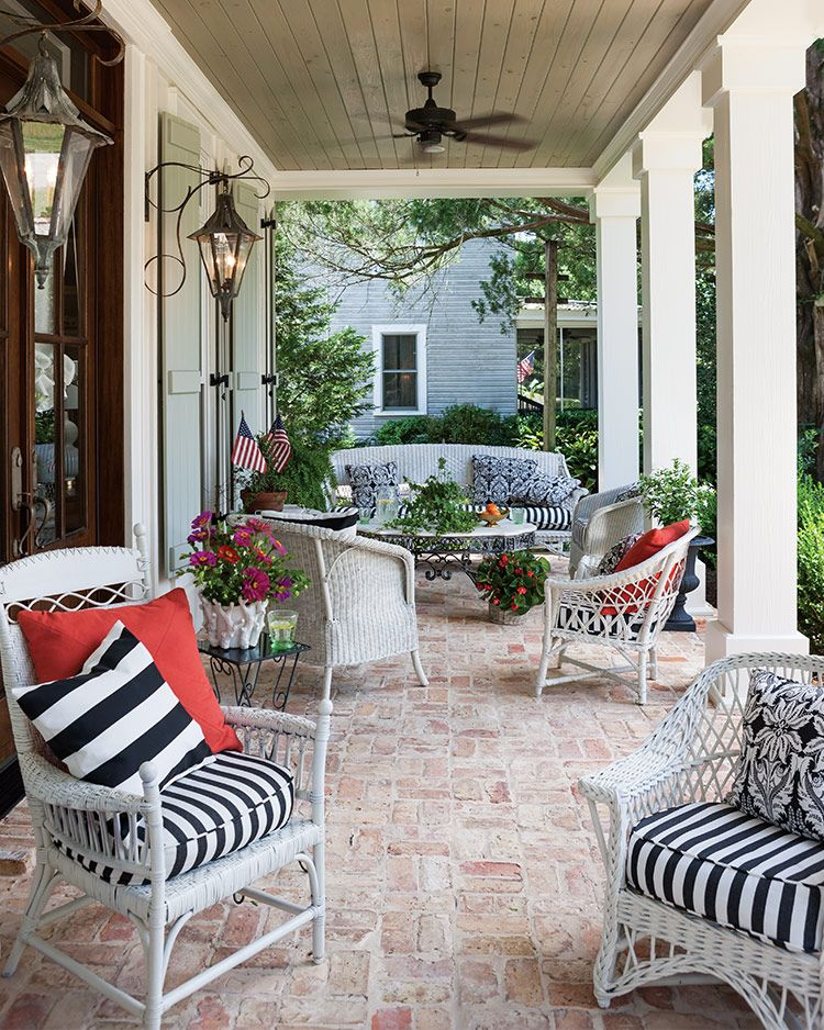 5 Fabulous Southern Porches Southern Porches Southern Front