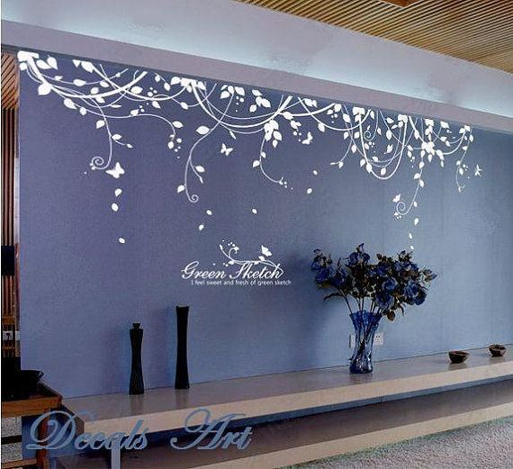 mix up some vinyl graphics for behind a bench or fountain in a lobby
