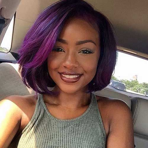 25 Black Girls With Bobs Bob Haircut And Hairstyle Ideas Hair Styles Long Hair Styles Natural Hair Styles