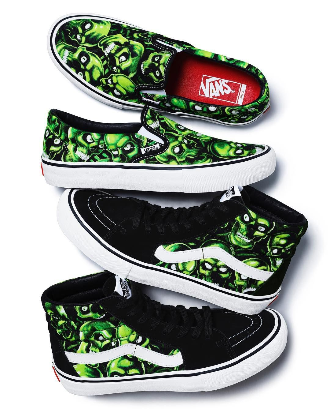 53c4c25e06 Supreme x Vans Glow-in-the-Dark