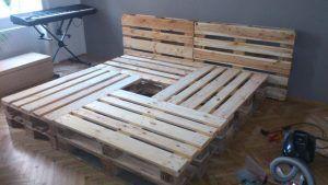 Betten Selber Bauen Aus Paletten Bett Aus Europaletten Pinterest - Bett Ideen #palletbedroomfurniture