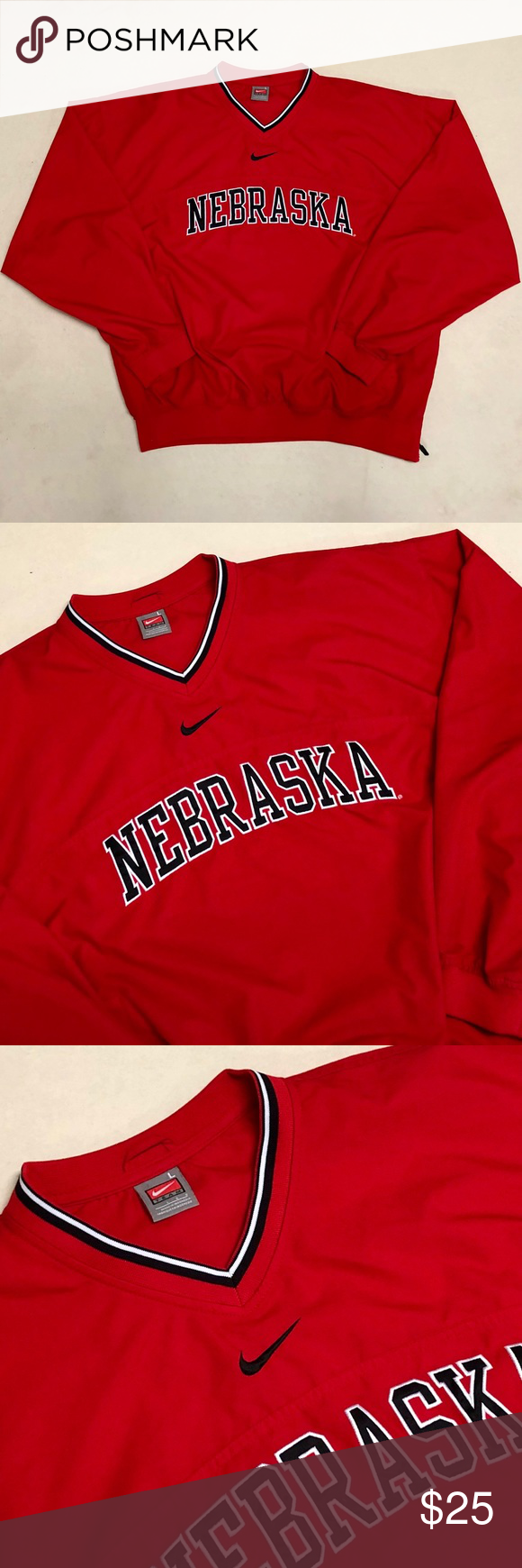 Obligar Parlamento dígito  University of Nebraska - Nike Men's Pullover in 2020 | Nike men, Nike  pullover, Pullover men
