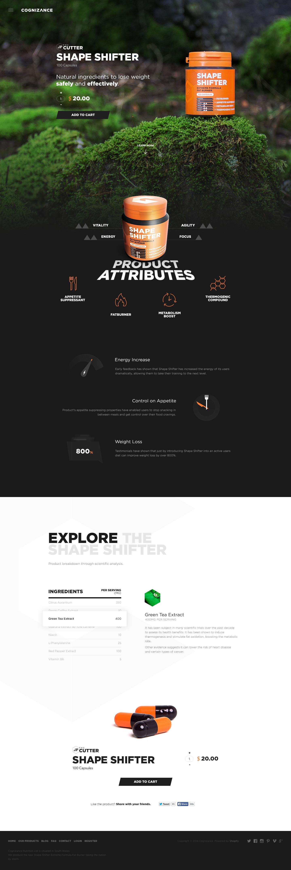 Cognizance Shape Shifter  #webdesign #design (View more at