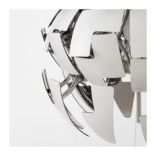 IKEA PS 2014 Pendant lamp, white, silver color, 14