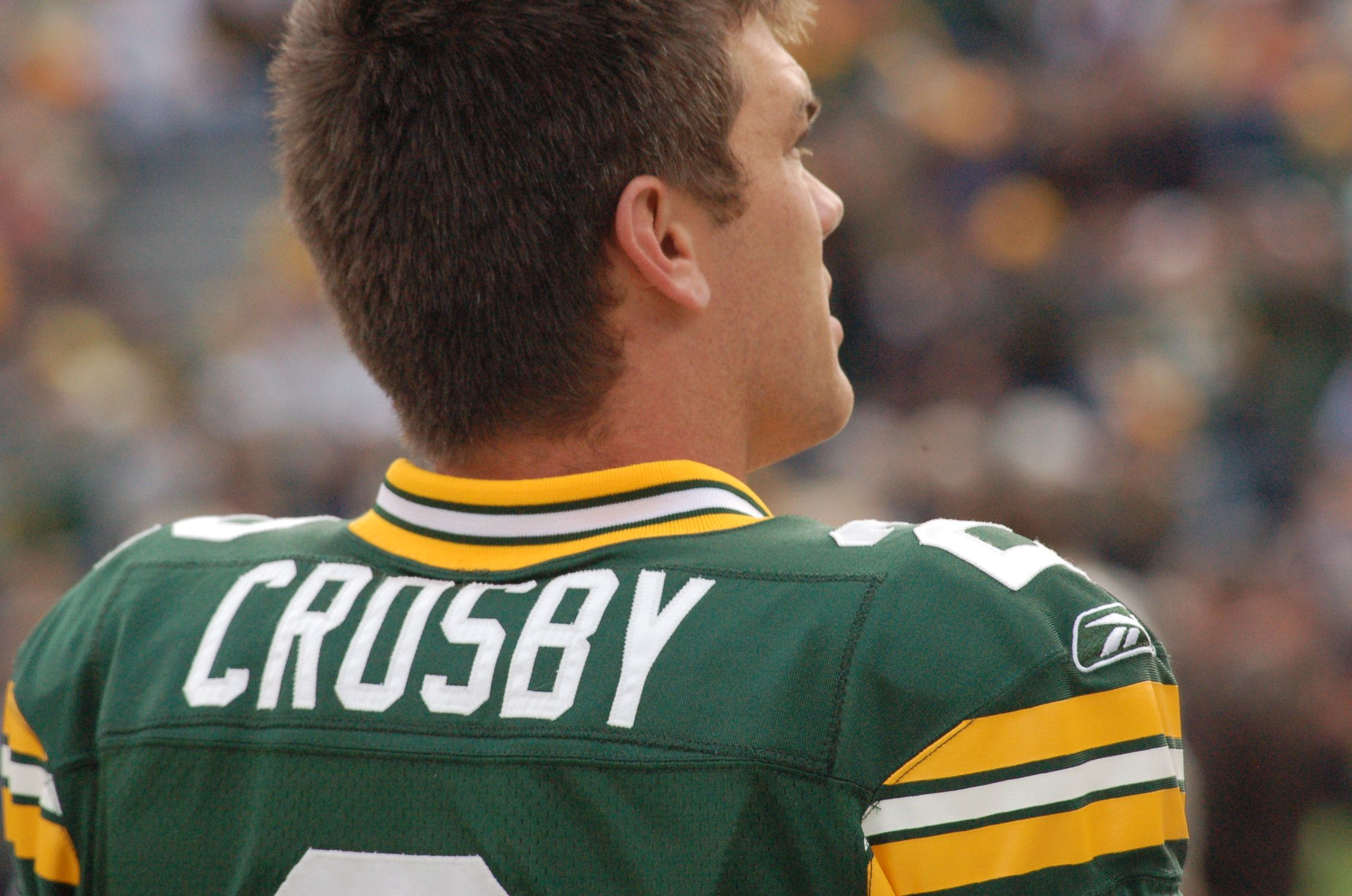 Kicker Mason Crosby Green Bay Packers Fans Packers Green Bay Packers
