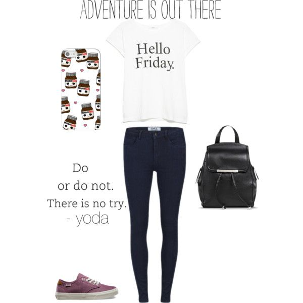 friday outfit ! ♡ ._. by loverofeverything8infinite on Polyvore featuring polyvore fashion style MANGO ONLY Vans Mossimo