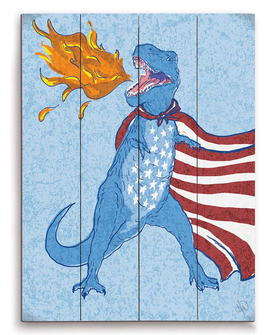 Yes.  'Americasaurus' Wall Art by Image Canvas.
