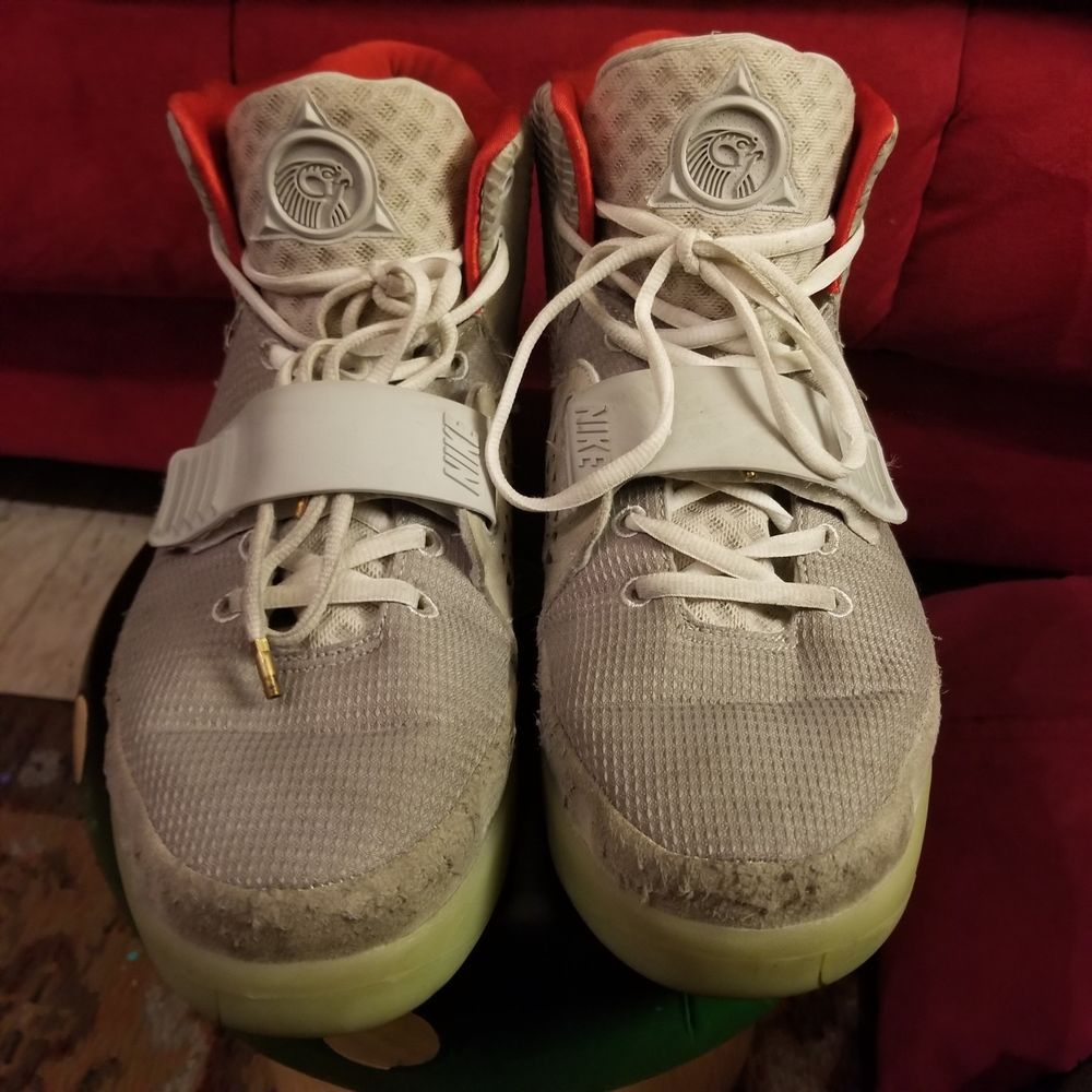 60ad5a762da (USED) NIKE AIR YEEZY 2 PLATINUM Wolf Grey Sz US11 KANYE WEST 508214-010  2012  fashion  clothing  shoes  accessories  mensshoes  athleticshoes (ebay  link)