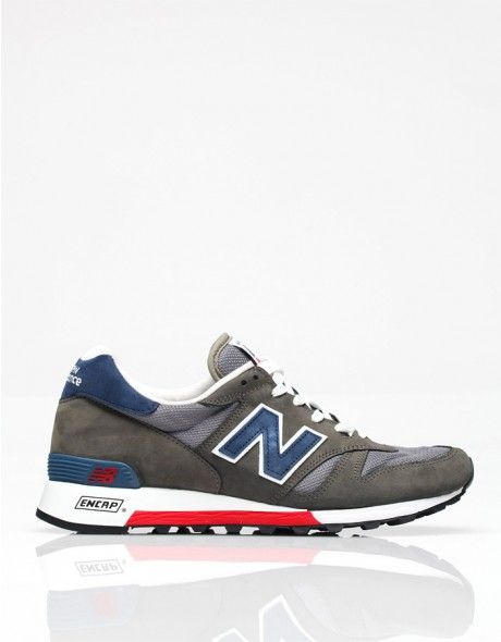 Classic sneaker from New Balance with contrasting suede and mesh uppers. Features vintage trainer styling with cushioned insole, padded ankle lining and rubber sole.  Made in USA    *At the request of the company, we can only ship New Balance shoes