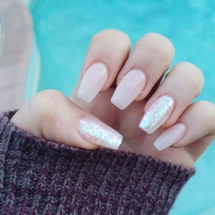 48 Natural Acrylic Nail Designs For Summer 2019 Koees Blog Spring Nail Colors Nail Designs Summer Acrylic Light Nails