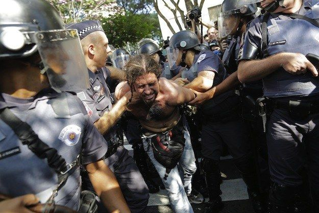 Anti-FIFA & World Cup Protests in Brazil Much Bigger Than Expected - Live Blog