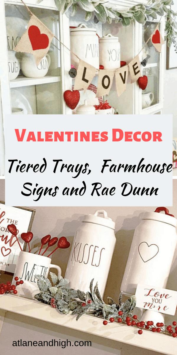 Modern Farmhouse Valentine S Day Decor Ideas In 2021 Valentine Decorations Valentines Decor