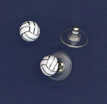 Volleyball Jewelry Volleyball Earrings Volleyball Jewelry Volleyball Outfits Volleyball