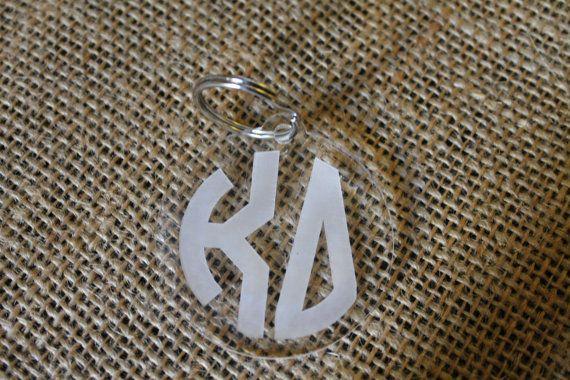 Kappa Delta KD Sorority Keychain by PeachStateLiving on Etsy, $8.00
