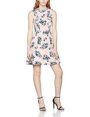 Womens Floral Frill Dress Wolf & Whistle 7SN3r