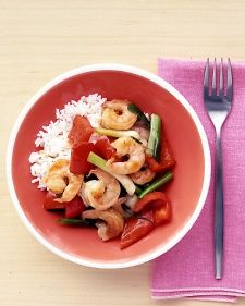 Shrimp and Ginger Stir-Fry, Recipe from Everyday Food, December 2004
