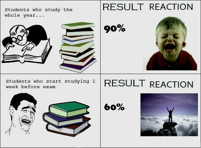 The Result Of Diligent Study Funny Study Quotes Funny
