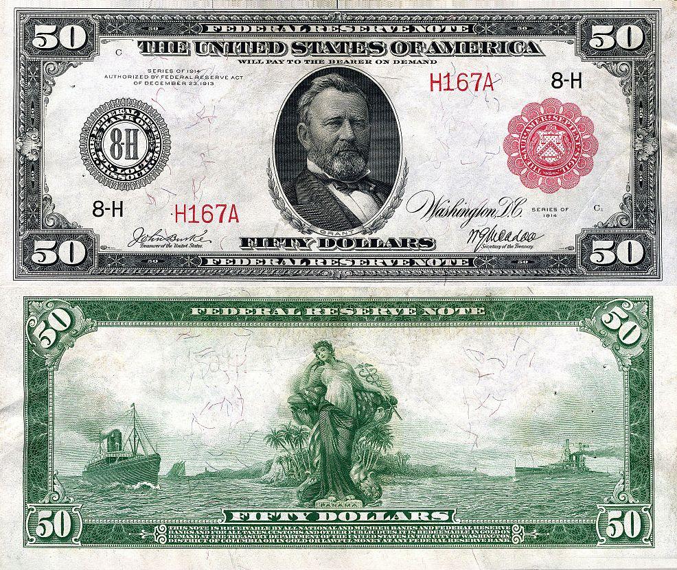 EEUU - 50 Dolares 1914