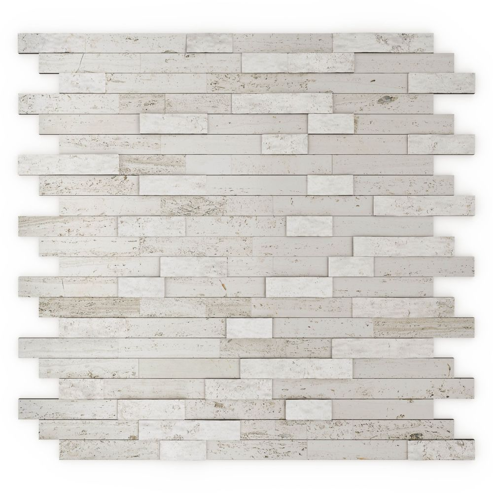 Himalayan Home Depot Stone Kitchen Backsplash Peel N Stick