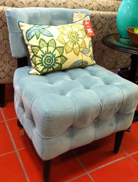 Best Pier One Accent Chairs Blue Velvet Accent Chair Blue 400 x 300