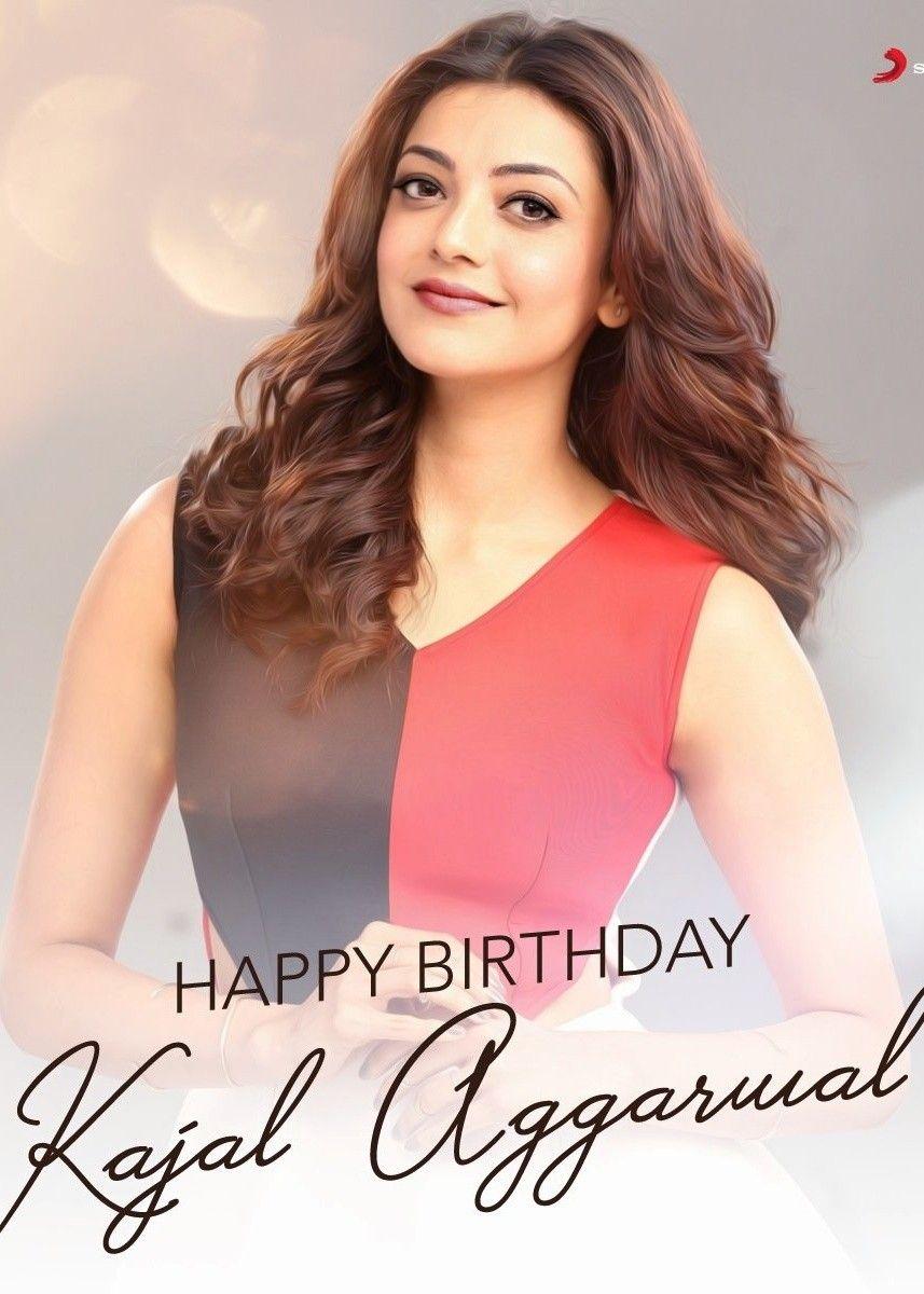 Kajal Aggarwal South Indian Actress Indian Actresses Happy Birthday Kajal Agarwal