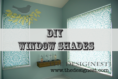 Diy Roller Shades How To Make Your Own Fabric Roller