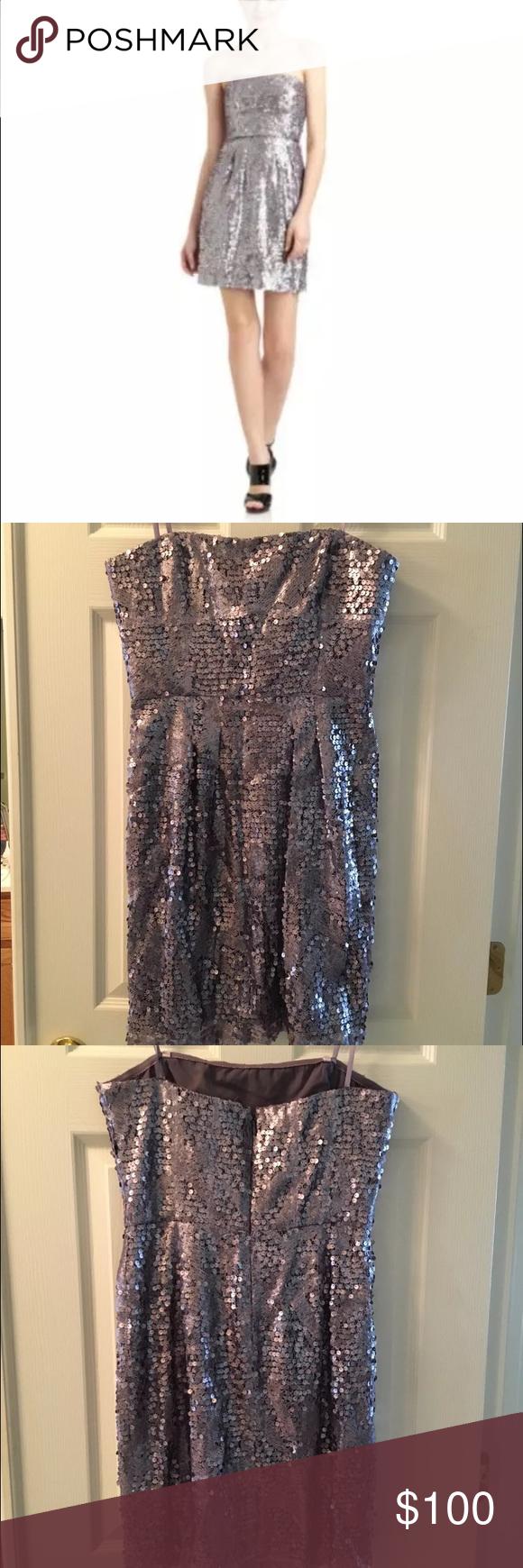 New Bcbg Maxazaria Sequin Sparkly New Years Dress Gorgeous Brand New Bcbg Dress Originally 258