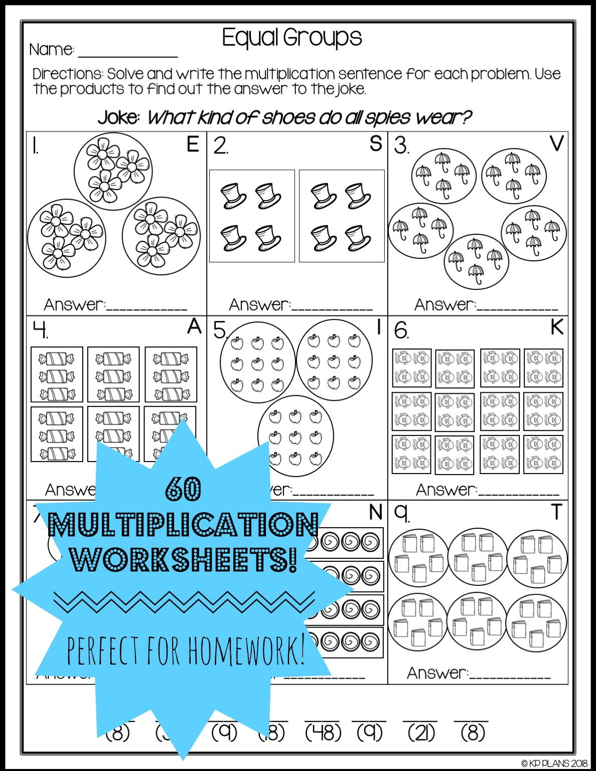 Multiplication Strategies Worksheets | Multiplication | Pinterest ...