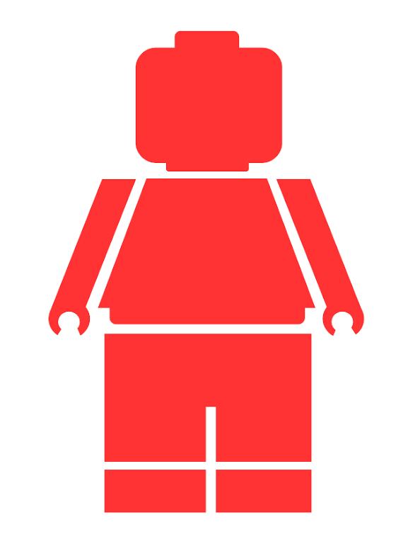 Lego Minifigure.pdf | Birthday - LEGO | Pinterest | Lego minifigure ...