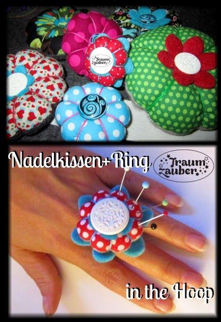 Traumzauber: Nadelkissen - ITH - Freebie | Stick-Freebies ...