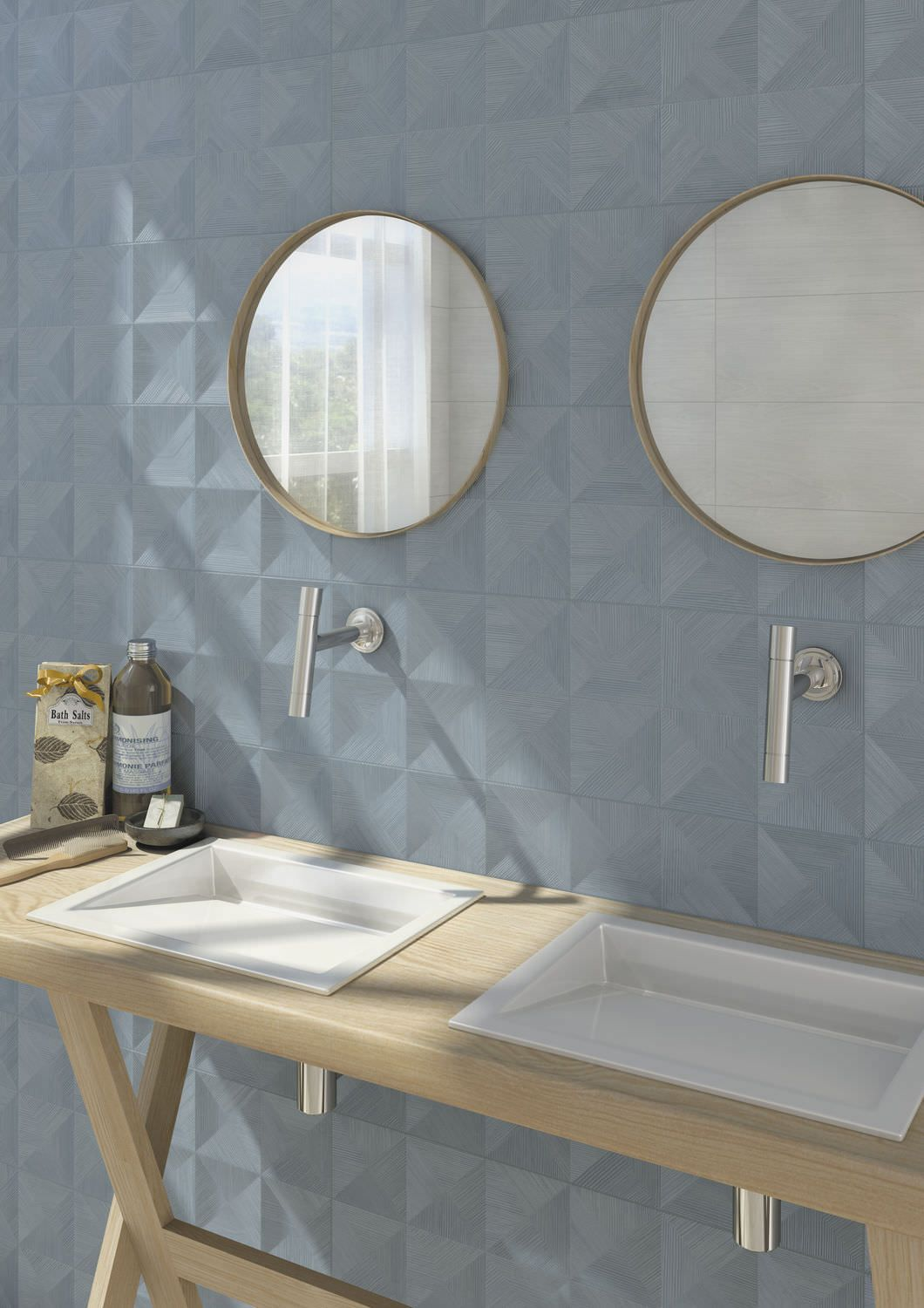 Indoor tile / wall / ceramic / high-gloss - INUIT - Vives Azulejos y ...
