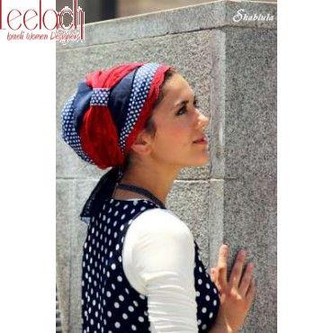 Rose Red & Blue Sinar Tichel   We\'ve got it covered!   Pinterest
