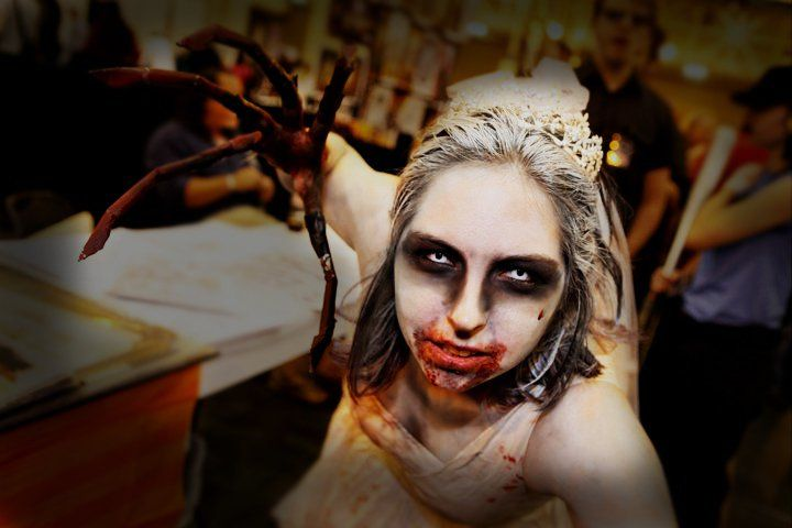 Otaku House Cosplay Idol » Ashta Nightrayne: Bride Witch from Left 4 Dead 2: The Passing